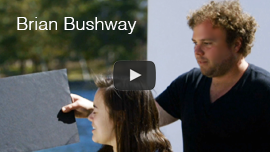 Video thumbnail shows World Access For The Blind Perceptual Navigation Instructor Brian Bushway training participants in an episode of National Geographic's 'You Can't Lick Your Own Elbow. Click on the thumbnail to go to the video.