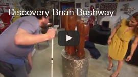 Video thumbnail of World Access For The Blind Perceptual Navigation Instructor Brian Bushway working with forensic artist Melissa Cooper on the Discovery Channel. Click here to see and hear the video on YouTube.