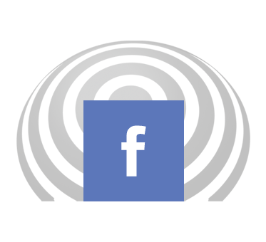 facebook icon is set against a FlashSonar wave. Click here to go to our Facebook page.