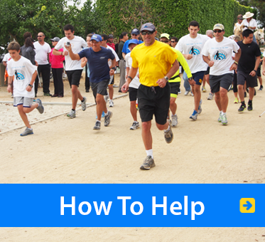 How To Help. Image: Participants run, walk and ride to raise funds for World Access For The Blind.
