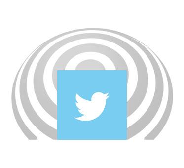 Twitter icon set against a FlashSonar wave. Click here to go to our Twitter page.
