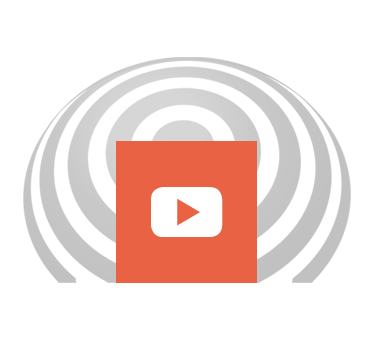 YouTube icon is set against a FlashSonoar wave. Click here to go to our YouTube page.