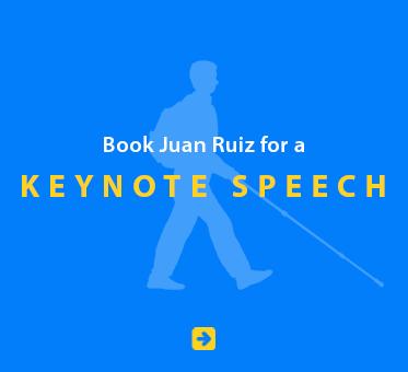 Book Juan Ruiz for a Keynote Speech.