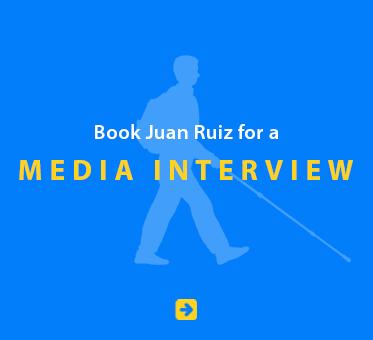 Book Juan Ruiz for a Media Interview.