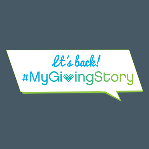 It's Back! My Giving Story.