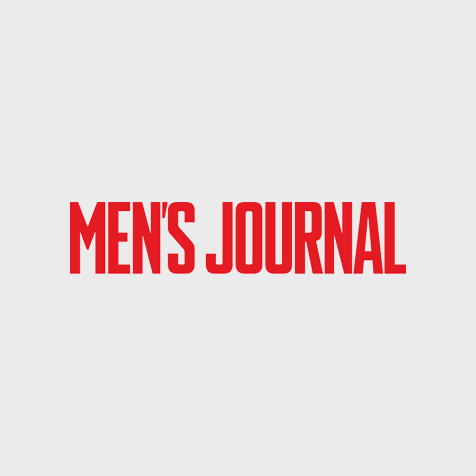 MEN'S JOURNAL magazine logo all-caps in red.