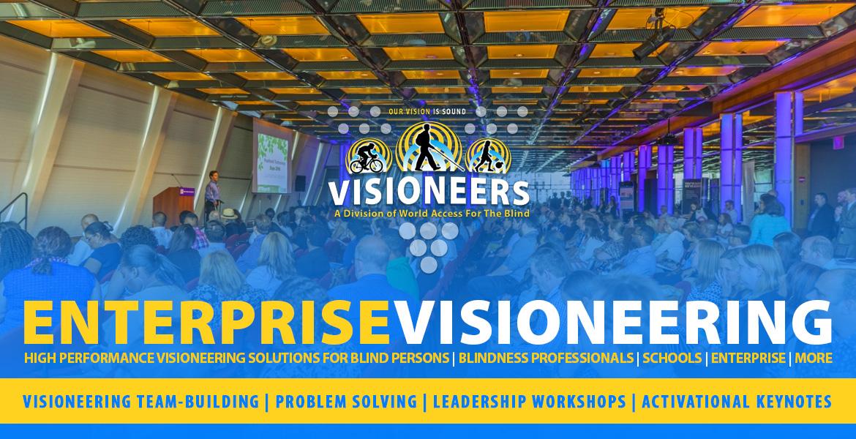 Enterprise Visioneering. Visioneering team-building | Problem Solving | Leadership Workshops | Activational Keynotes.